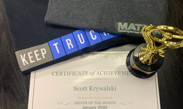 Driver of the Month January 2020