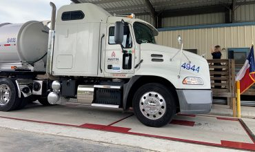 New Truck Inspection Station on I-10