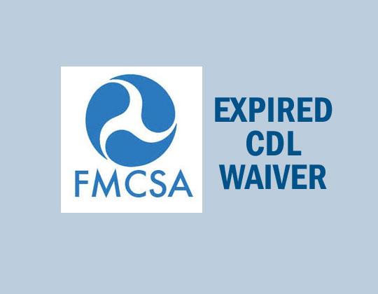 FMCSA Waiver
